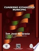 libro San José De Gracia Estado De Aguascalientes. Cuaderno Estadístico Municipal 1997