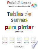 libro Tablas De Sumas Para Pintar (de 1 A 10)