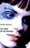 libro Un Nome De Dicionario