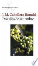 libro Dos Días De Setiembre
