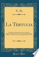 libro La Tertulia