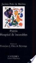 libro Poesía ; Hospital De Incurables