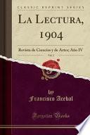 libro La Lectura, 1904, Vol. 2