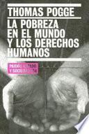 libro La Pobreza En El Mundo Y Los Derechos Humanos