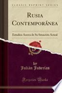 libro Rusia Contemporánea