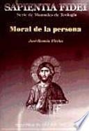 libro Moral De La Persona