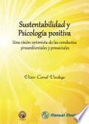 libro Sustentabilidad Y Psicología Positiva