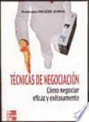 Descargar el libro libro Técnicas De Negociación