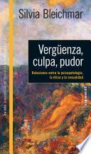 Descargar el libro libro Vergüenza, Culpa, Pudor. Relaciones Entre La Psicopatología, La ética Y La Sexua