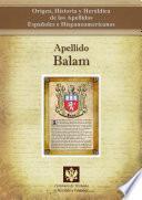 Descargar el libro libro Apellido Balam
