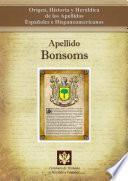 Descargar el libro libro Apellido Bonsoms