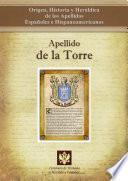 Descargar el libro libro Apellido De La Torre