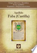 Descargar el libro libro Apellido Faba (castilla)