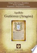 Descargar el libro libro Apellido Gutiérrez (aragón)