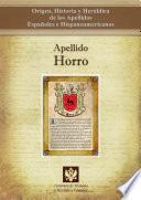 Descargar el libro libro Apellido Horro