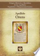 Descargar el libro libro Apellido Orero