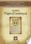 Descargar el libro libro Apellido Pagés.(catalunya)