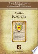 Descargar el libro libro Apellido Roviralta