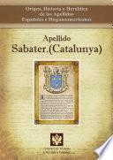 Descargar el libro libro Apellido Sabater.(catalunya)