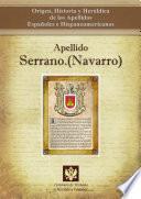 libro Apellido Serrano.(navarro)