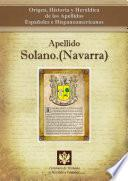 Descargar el libro libro Apellido Solano.(navarra)