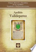 Descargar el libro libro Apellido Valldeperez