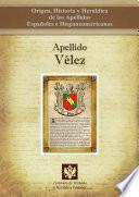 Descargar el libro libro Apellido Vélez