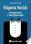 Descargar el libro libro Etiqueta Social