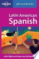 Descargar el libro libro Latin American Spanish Phrasebook
