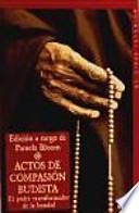 libro Actos De Compasión Budista