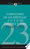 libro Comentario De Las Epístolas De 1a Y 2a De Timoteo Y Tito