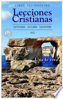 libro Lecciones Cristianas Fall 2012 Libro Del Maestro