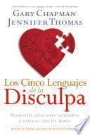 Descargar el libro libro Los Cinco Lenguajes De La Disculpa