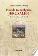 Descargar el libro libro Pisando Tus Umbrales, Jerusalén