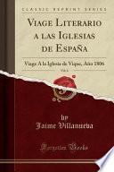 Descargar el libro libro Viage Literario A Las Iglesias De España, Vol. 6