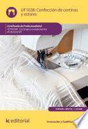 libro Confección De Cortinas Y Estores. Tcpf0309