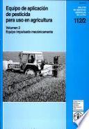 Descargar el libro libro Equipo Portàtil De Aplicación De Pesticidas Para Uso En Agricultura
