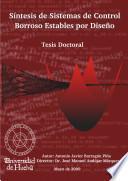Descargar el libro libro Síntesis De Sistemas De Control Borroso Estables Por Diseño