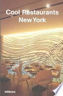 libro Cool Restaurants New York
