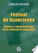 libro Festival De Licuaciones