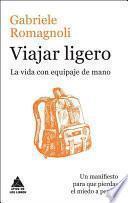 libro Viajar Ligero
