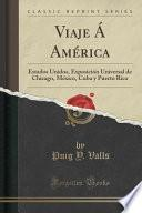 libro Viaje Á América